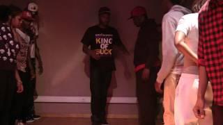 Twin Gunshot Aka Miky And Twin West Tha Ballas At The Caveman Street - session round