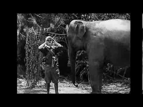 Slapstick clips - Roughest Africa (1923)