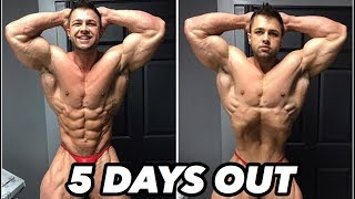 Bodybuilding motivation - regan grimes 5 days out