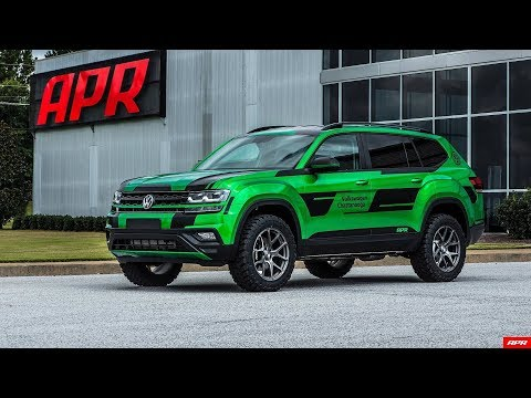 Tuner Transforms Volkswagen Atlas Into Lifted 350 HP Performance SUV