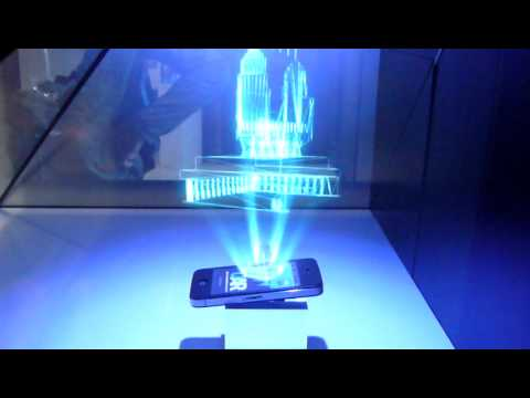 3d Hologram Wallpaper Gif 3d Holographic Projection Youtube