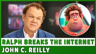 "RALPH BREAKS THE INTERNET | On-set visit with John C. Reilly ""Ralph"""