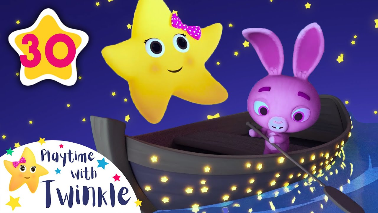 Row Row Row Your Boat - Lullabies for Babies | Kids Songs & Nursery Rhymes | Learn with Twinkle