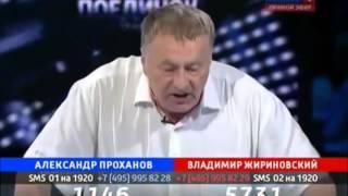 Жириновский против Лукашенко и его системы