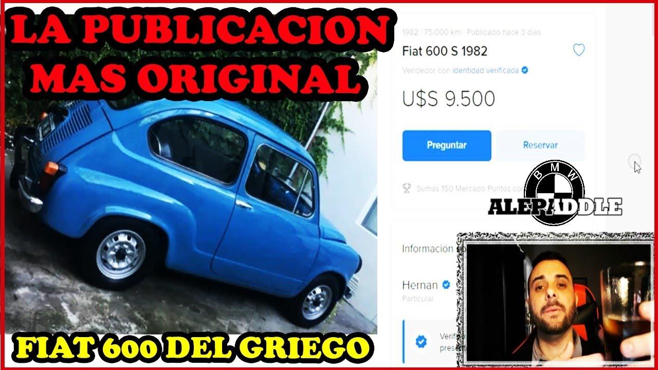 Download Reaccionando a la publicación MAS GRACIOSA de mercadolibre - Fiat 600 del GRIEGO #Alepaddle