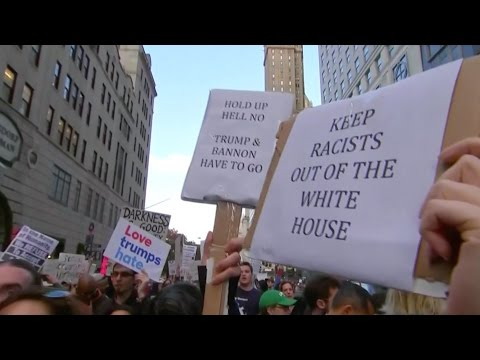 Anti-Trump Protests Continue Nationwide