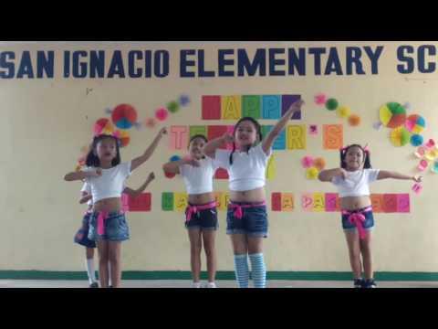 Happy teachers day in san ignacio elementary school