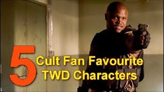 Top 5 Cult Fan Favourite The Walking Dead Characters
