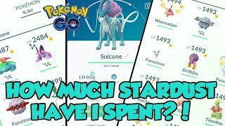 HOW MUCH STARDUST HAVE I SPENT ON PVP?! POKEMON GO MASSIVE STARDUST INVESTMENT!
