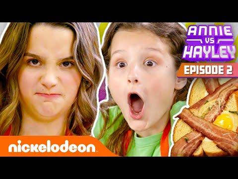 Annie & Hayley LeBlanc Make Their Mom Breakfast! 🍳 Annie vs. Hayley: Ep 2   Nick