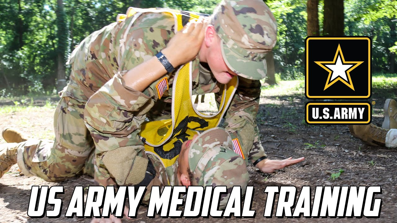 US Army Boot Camp Medical Training Charlie 1-19