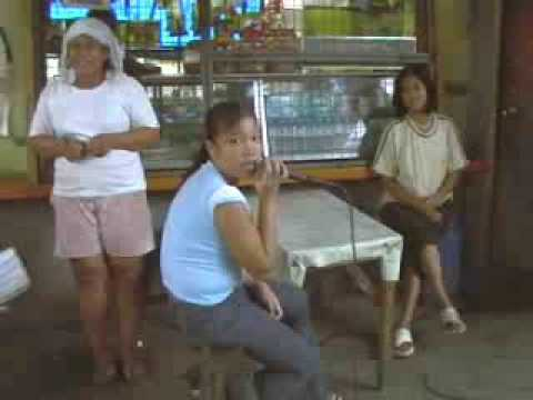 Shy Karaoke Singer At Antipolo