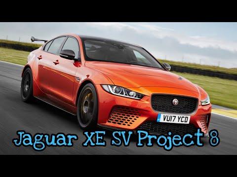 Hot Wheels Jaguar XE SV Project 8 -  Unpack. Review