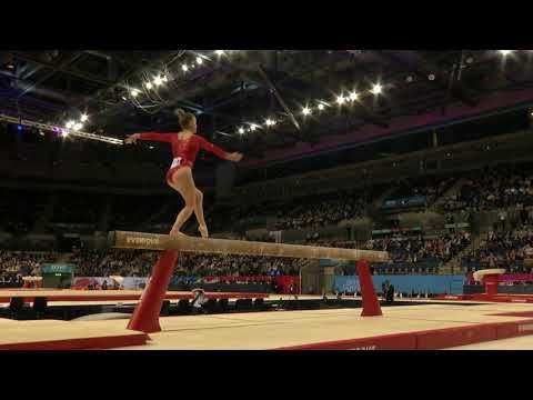 Alice Kinsella - SILVER - Beam -  2018 British Gymnastics Championship WAG Senior Apparatus Final