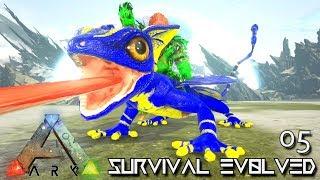 ARK: SURVIVAL EVOLVED - LIGHTNING GLOWTAIL & NEW ANKLO !!! | ARK EXTINCTION ETERNAL MODDED E05