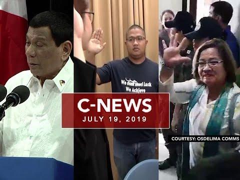 UNTV: C-News (July 19, 2019)