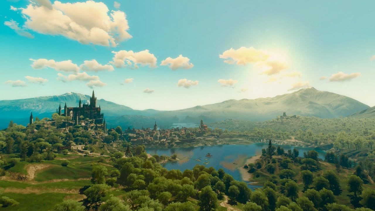 toussaint u0026 39 s beautiful landscapes     blood and wine     the witcher 3