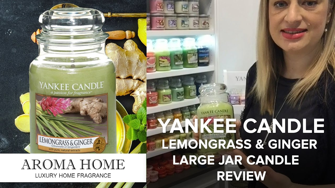 Yankee Candle Lemongrass & Ginger Large Jar Candle Review ...