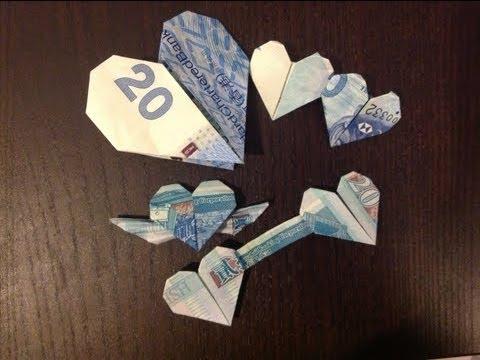 Money Rose Origami