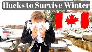 Hacks to Survive Winter in Canada