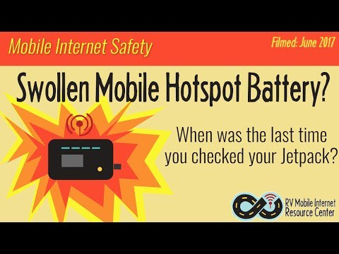Swollen Battery? - How to Check Your Hotspot, Prolong