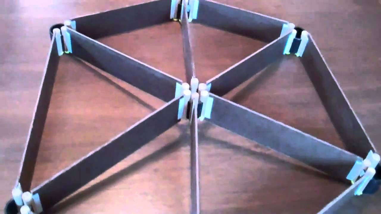 Hub System For Curved Roof Space Frame Youtube