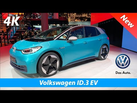 Volkswagen ID.3 EV (1ST) 2020 - FIRST Look In 4K | Interior - Exterior