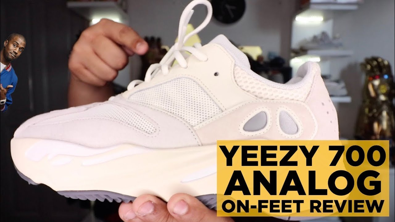 19c8fff158bd0 YEEZY 700 ANALOG ON-FEET REVIEW - YouTube
