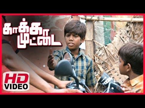 Kaakka Muttai Tamil Movie | Scenes | Vignesh And Ramesh Wants To Eat Pizza