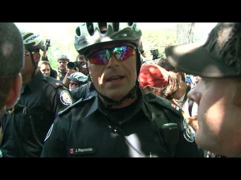 G20 Fake Law - Council of Canadians protest - police chief lies