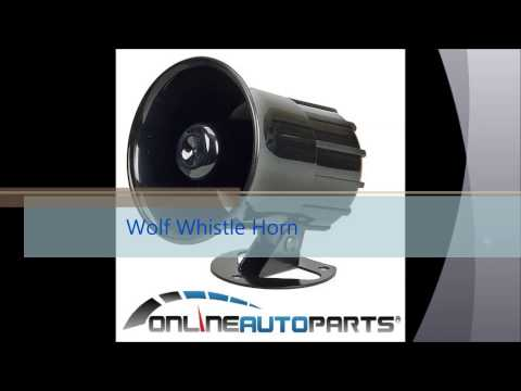 Wolf Whistle Horn Car Eletric Siren onlineautoparts