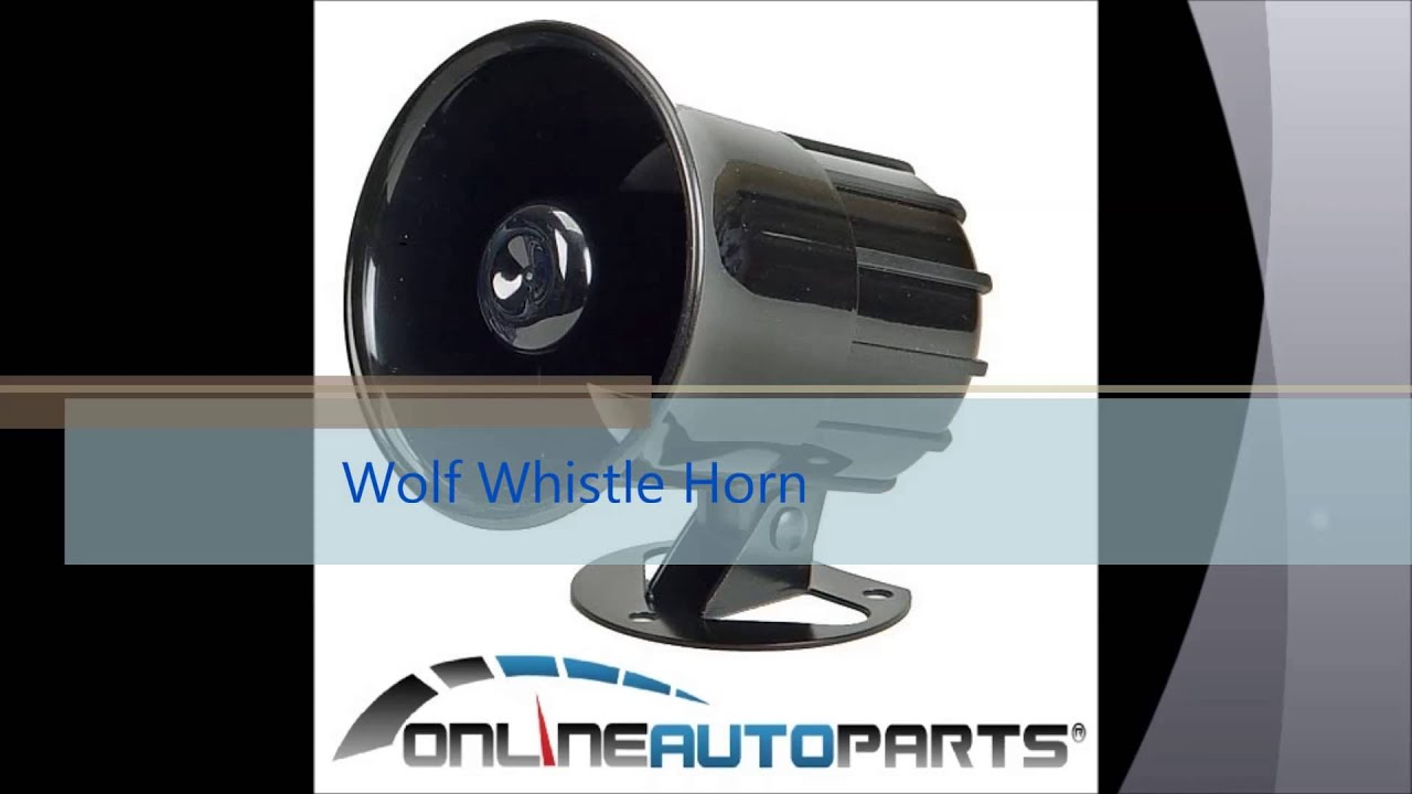 Wolf Whistle Horn Car Eletric Siren Onlineautoparts Youtube
