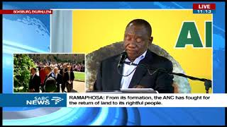 President Ramaphosa addresses the ANC Land summit thumbnail