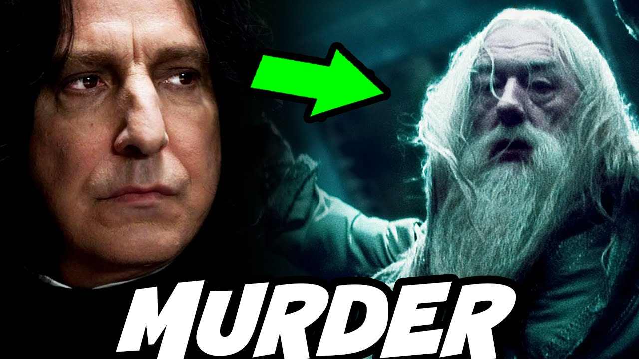 HOW Snape Used Avada Kedavra on Dumbledore - Harry Potter Theory