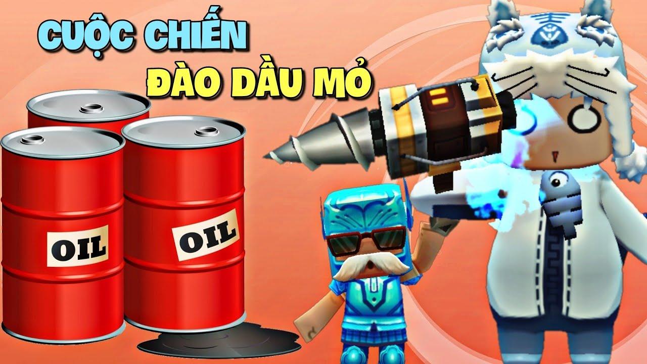 Hướng dẫn Người Tối Cổ chơi cuộc chiến đào dầu mỏ trong Mini World | Meowpeo Mini Game