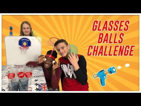Sfida Bicchieri canestro Challenge Glasses Balls by Lukas