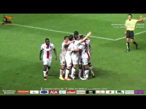 [Goals Highlight] Toyota Thai League 2016 : Buriram United 2-1 Chiangrai United