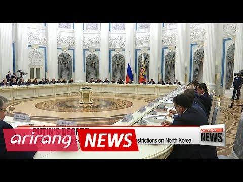 Putin signs decree to enforce UN Security Council resolution on North Korea