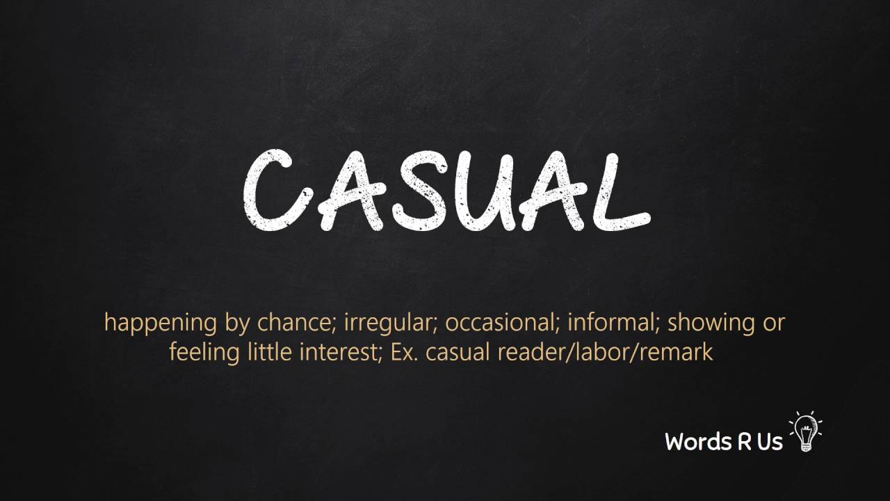 How to Pronounce CASUAL in American English