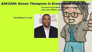 Weeknight Update episode 829/2595: Kenan Thompson Is Everywhere Right Now!