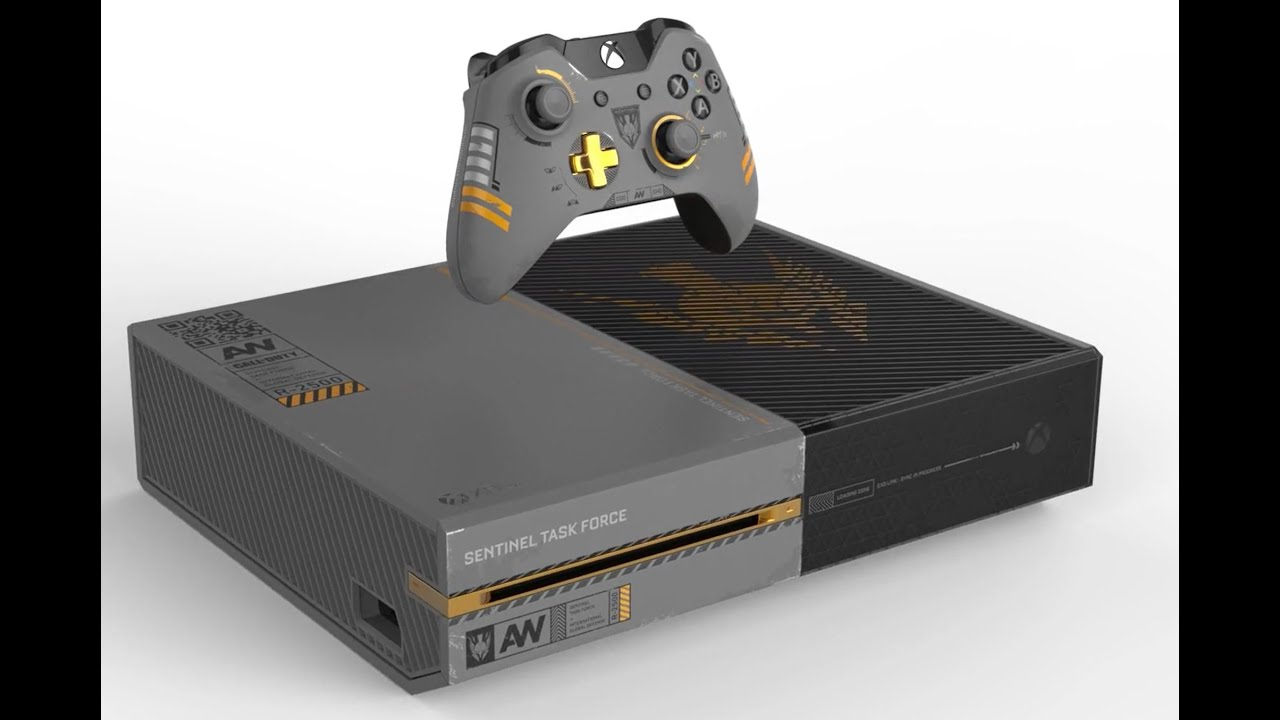 Call of Duty: Advanced Warfare Xbox One 1TB unboxing - YouTube