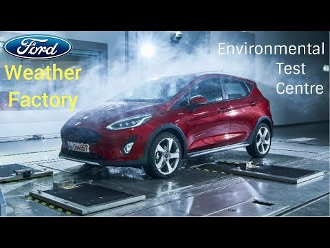 2018 New Ford 'Weather Factory' - Ford Environmental Test Centre