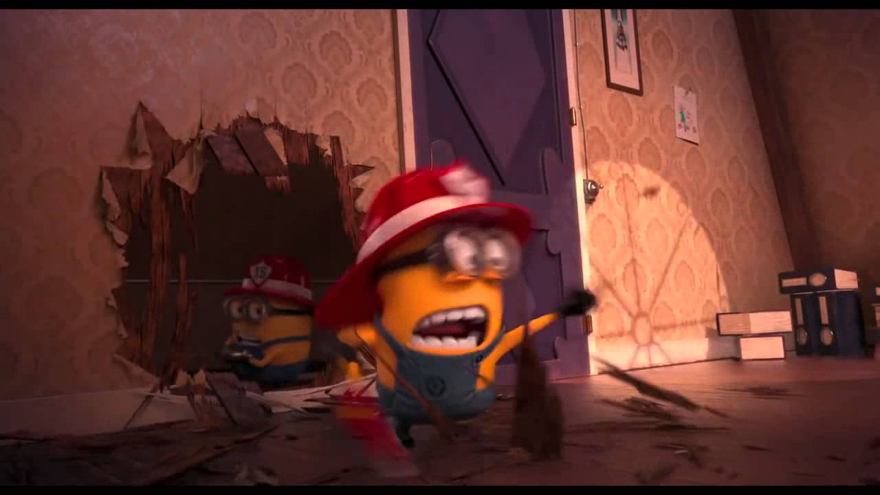 Despicable Me 2 Clip fire alarm Beedo Beedo - YouTube
