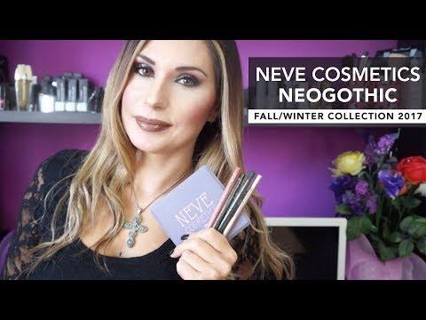 NEVE COSMETICS NEOGOTHIC | Collezione autunno/inverno 2017 || LadyGlow