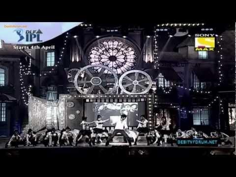 Shahid Kapoor performance @ MSA 2012 part 1