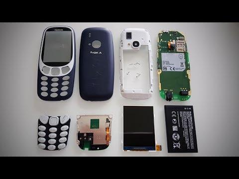 Nokia 3310 (2017) Teardown Disassembly