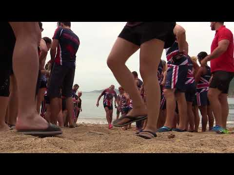 Great Britain Dragon Boat team unite as one