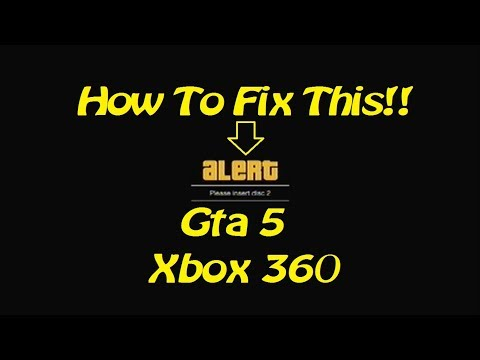 How to install gta5 disk 1 for xbox
