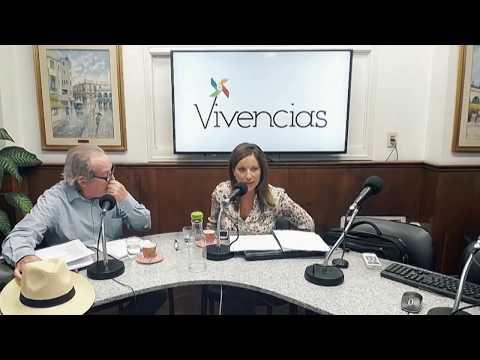 """""""María Eugenia Vaz Ferreira"""" con Nelson Guerra y Andrea Calvete en Vivencias 27042018"""