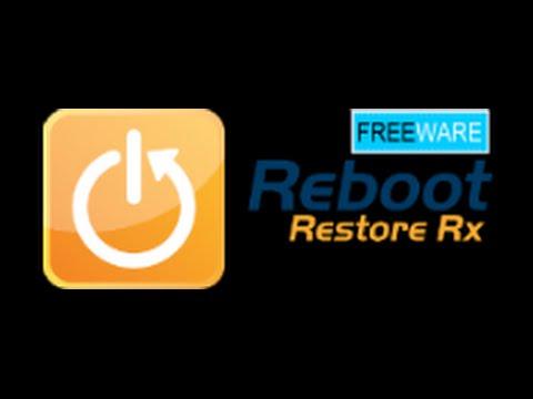 reboot restore rx windows 10 blue screen